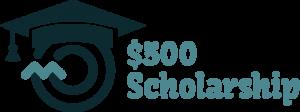 $500 Scholarship Logo Image