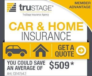 Image advertising TruStage Car and Home Insurance