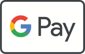 Colored G and Black Pay Google Pay Mark